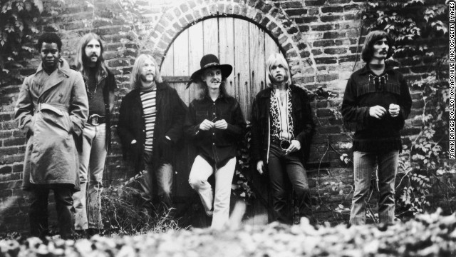The Allman Brothers Band: Let's get ready to ramble.
