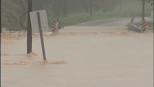 Heavy rain floods NC counties