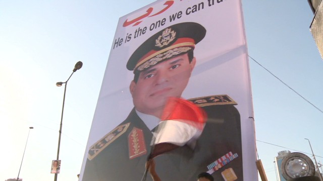 Egypt's defense chief rallies support