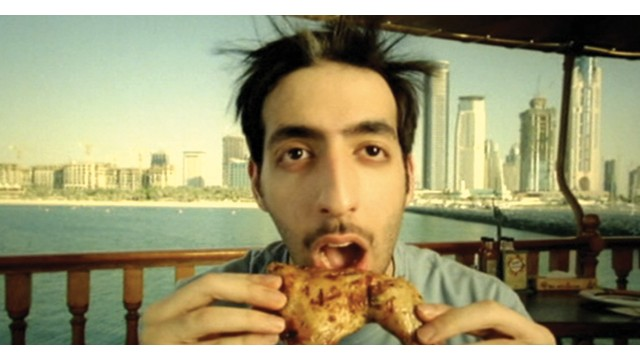 Shot from the 2006 Nando's advert that went viral