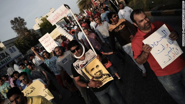 Powerful images in Bahrain