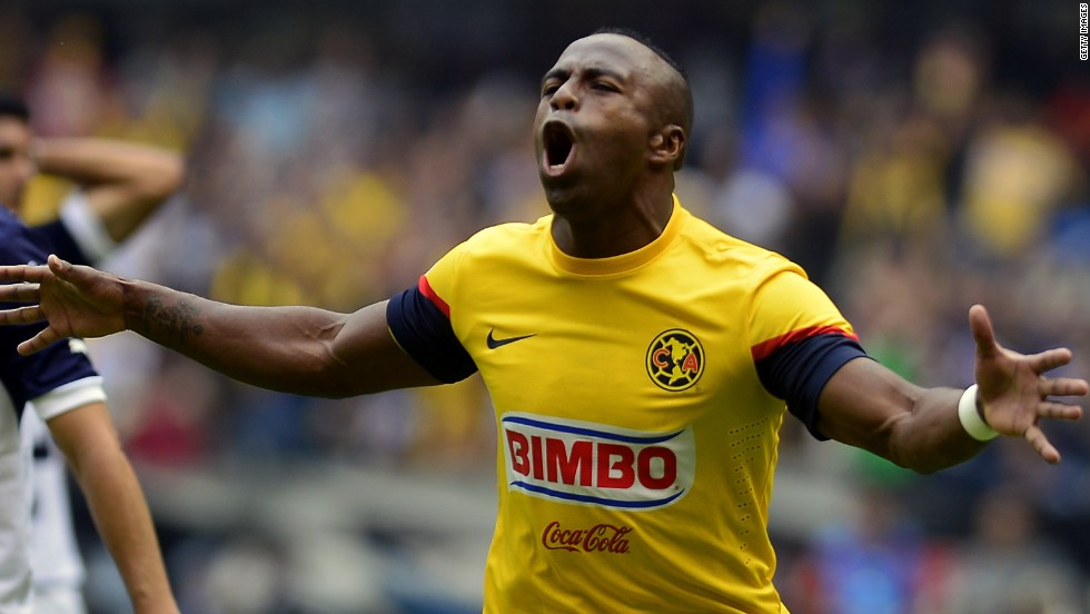Benitez scored 24 goals in 58 international appearances for Ecuador, following in the footsteps of his father Ermen Benitez, who also represented the national team. Last season, he helped Mexican side Club America win the Clausura title.