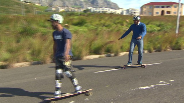 Longboard riders move into District Six