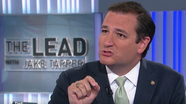 Sen. Cruz focused on defunding Obamacare
