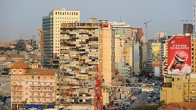 You can almost smell the money in Luanda ... once again ranked most expensive city in the world for expats.
