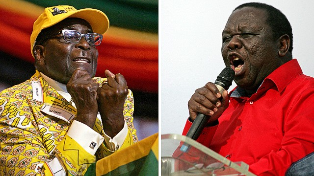 Bitter rivals on ballot in Zimbabwe