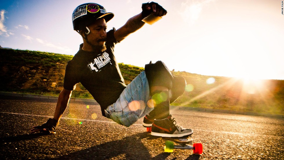 Lingeveldt is an award-winning photographer and the owner of Alpha Longboards, a Cape Town-based brand that produces customized decks.