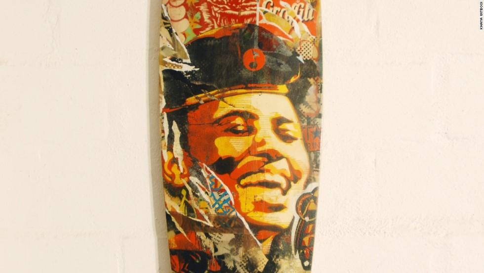 The company prides itself on customization as no two boards are the same. The decks are first hand-shaped by Lingeveldt according to the specific requirements of each client. When they're ready, illustrators step in and add their eye-catching artwork on the boards.