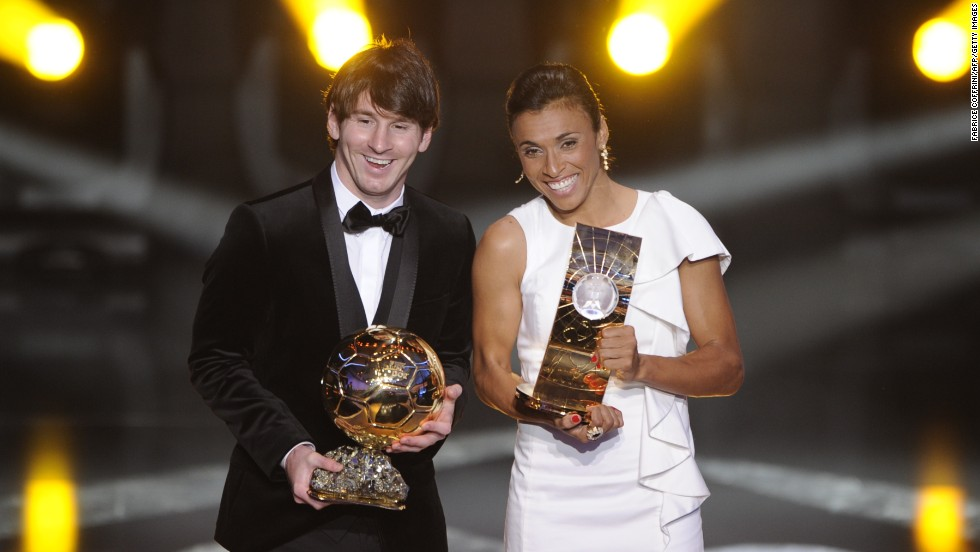 The 27-year-old won her world's best player titles in consecutive years from 2006-10.