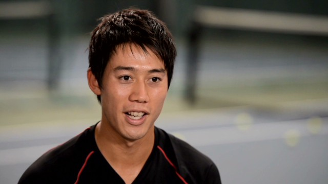 Japan's 'rock star' tennis pro