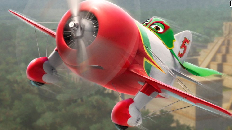 "Early in production, Bautista noticed that Chu -- one of the main characters -- was shown with his propeller turning backwards. Bautista's suggestion to correct that detail led to more aviation accuracy in the film. Voiced by Carlos Alazraqui, Chu ""races with a whole lot of heart and more dramatic flair than is recommended at high altitudes."""