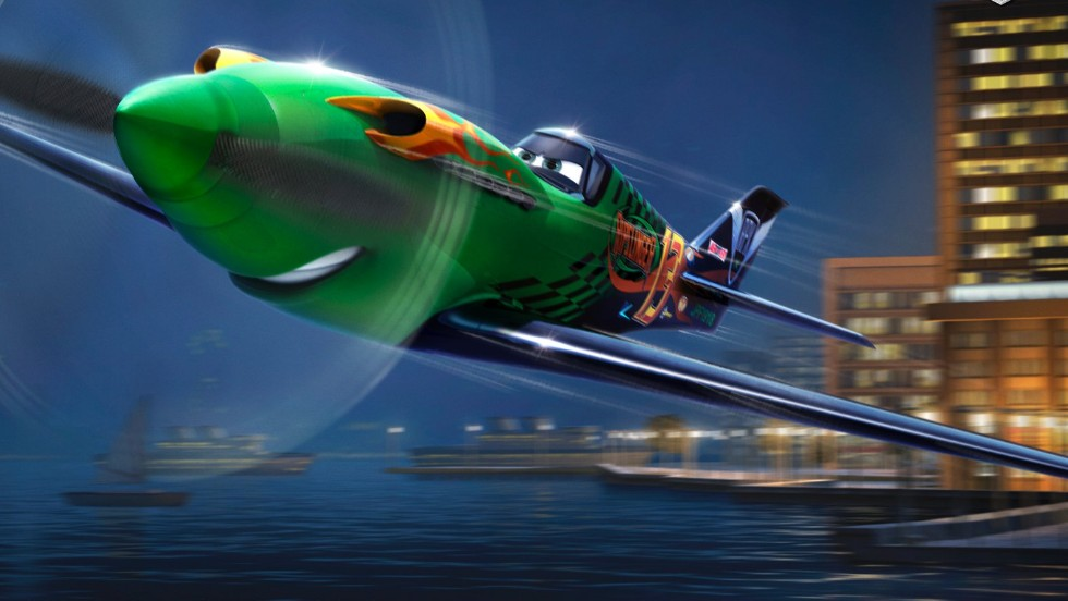 "Ripslinger -- voiced by Roger Craig Smith -- is ""wings-down the biggest name in air racing,"" according to Disney's ""Planes"" website. However, this world champion ""doesn't play fair."""