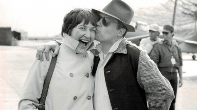 Marion Dougherty with director George Roy Hill, with whom she worked on several films.