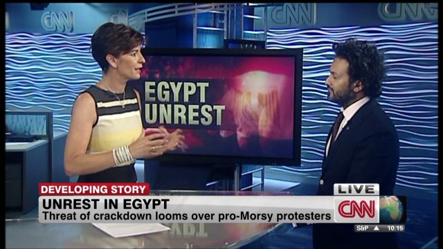 Threat of crackdown looms over Egypt
