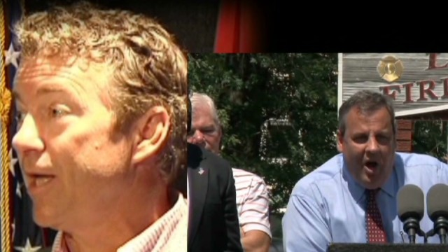 Chris Christie, Rand Paul: Not best buds