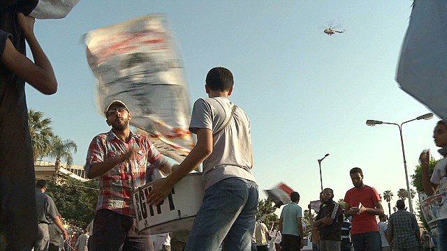 Morsy supporters prepare for the worst