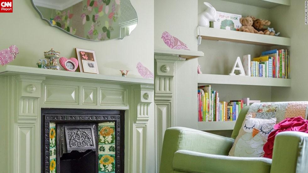 "<a href=""http://ireport.cnn.com/docs/DOC-1013752"">Ursula Wesselingh</a> designed this <a href=""http://www.room-to-bloom.com"" target=""_blank"">British nursery</a>."