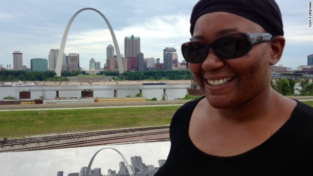 Lolanda Ohene, a forklift operator in St. Louis, says as an American, she expected to be better off in her work life by now.