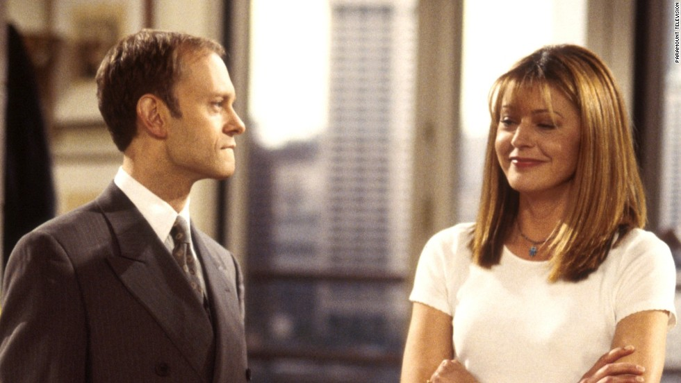 "Niles Crane, played by David Hyde Pierce, was infatuated with Daphne Moon, played by Jane Leeves, from the first of 11 seasons of ""Frasier."" Moon and Crane finally married in the first episode of the 10th season."