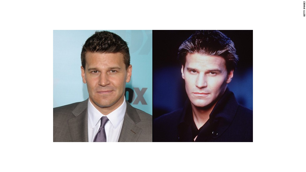 "Before vampires drank Tru Blood in Louisiana and uncovered ""Originals"" in Mystic Falls, there was David Boreanaz's Angel. Boreanaz portrayed this tortured vamp so well he got his own show, ""Angel,"" from 1999 to 2004. Since then, he's been a megastar over on ""Bones"" as Special Agent Seeley Booth -- although his <a href=""http://marquee.blogs.cnn.com/2010/05/06/infidelity-has-left-david-boreanaz-in-%E2%80%98sincere-pain%E2%80%99/?iref=allsearch"" target=""_blank"">personal life did take a hit in 2010</a> when he admitted to cheating on his wife."