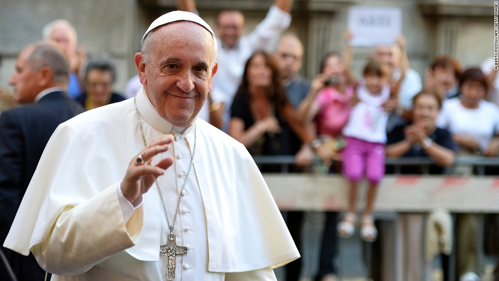 "<strong>March 2013:</strong> The Catholic Church <a href=""http://inamerica.blogs.cnn.com/2013/03/15/is-the-new-pope-latino/"">elected its first pope from South America</a>, a milestone that had some wondering whether he should be considered the first ""Latino"" pope.<br /><br />""It's human nature to want to see yourself reflected in an organization you belong to,"" Ruben Naverrette wrote. His tour through Brazil showed the pope has <a href=""http://religion.blogs.cnn.com/2013/07/28/what-we-learned-about-pope-francis-in-brazil/"">been embraced by Latinos and Latin Americans and by many around the world</a>.  <br />"