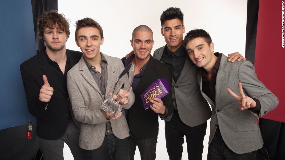 "The Wanted released their self-titled debut album in 2010, and by 2012 their song ""Glad You Came"" was inescapable. Jay McGuiness, Nathan Sykes, Max George, Siva Kaneswaran and Tom Parker, here after receiving a 2013 People's Choice award, are repped by Justin Bieber's manager Scooter Braun, so they know a thing or two about heartthrobbing. The group has appeared on TV in the E! reality show ""The Wanted Life,"" and their album ""Word of Mouth"" was released in September 2013."