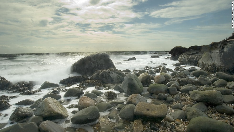 "<a href=""http://www.ct.gov/deep/cwp/view.asp?a=2716&q=325210"" target=""_blank"">Hammonasset State Park </a>in Madison, Connecticut, has sandy beaches, but it also has rocks -- big rocks. At the end, Meigs Point features an imposing section of rocks and boulders."