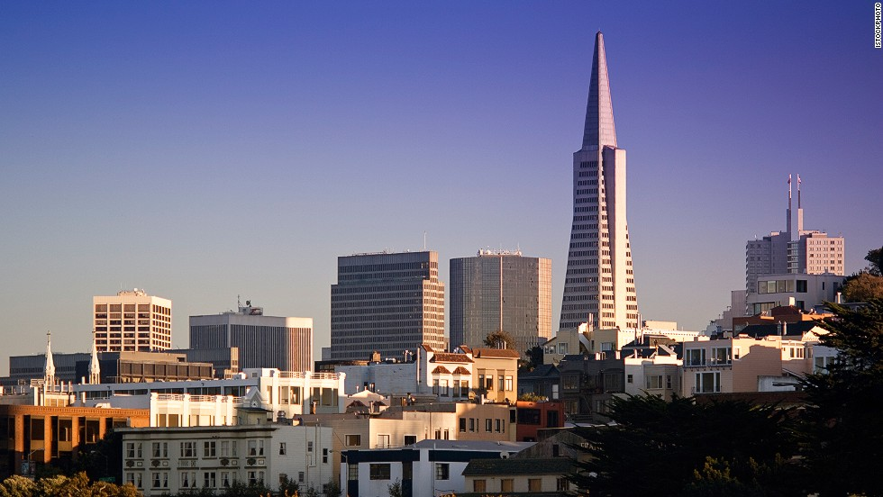 "<strong>Height</strong>: 260 meters.<br /><strong>Cost to build</strong>: $32 million.<strong><br />Completion date</strong>: 1972.<br /><strong>Fast fact</strong>: When the Transamerica Pyramid's three years of construction began in 1969, signs around the site proclaimed it ""a San Francisco landmark since 1972."""