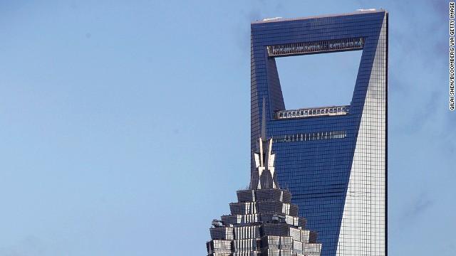 Shanghai World Financial Center, Shanghai.