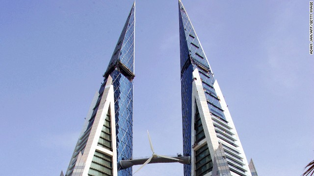 Bahrain World Trade Center, Bahrain.