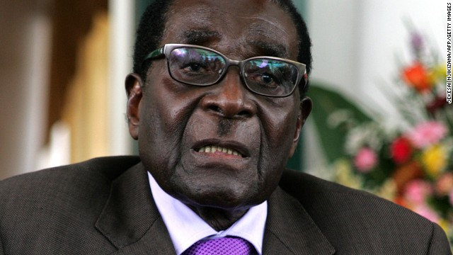 (File) Zimbabwe's President Robert Mugabe pictured here on January 17, 2013 in Harare.