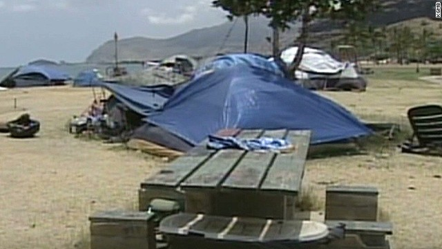 Hawaii offers homeless one-way tickets
