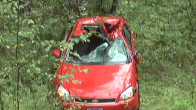 Man trapped inside car for three days