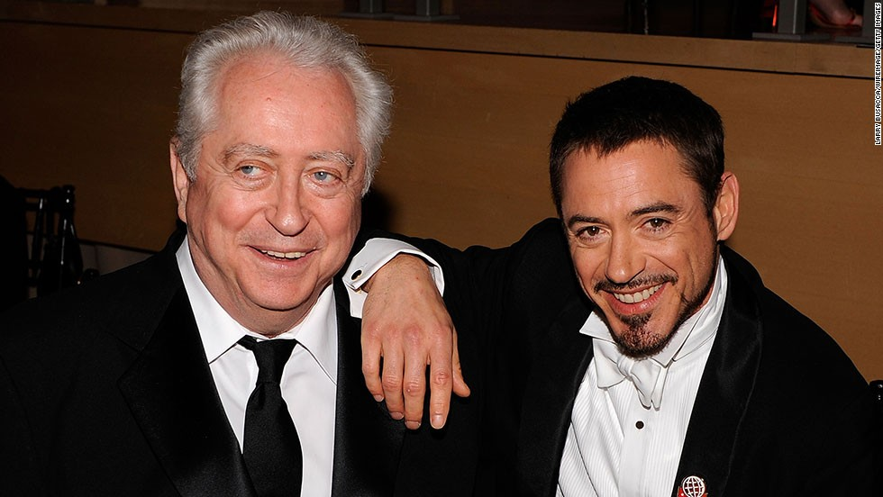 "Robert Downey Jr. has had some tough times, but he probably has made his father, Robert Downey Sr., proud. The elder Downey has worn many hats throughout his career, ranging from actor to writer to director, including the 1969 film ""Putney Swope."" Robert Jr. honed his acting chops early on and <a href=""http://www.cnn.com/2013/07/17/showbiz/celebrity-news-gossip/robert-downey-jr-forbes-list/index.html?iref=allsearch"">is now the highest-paid actor in Hollywood. </a>"