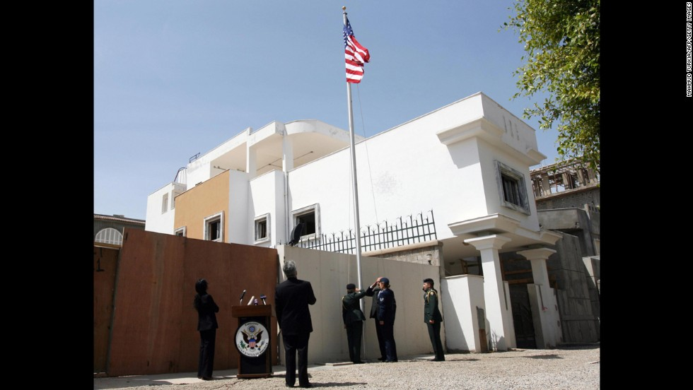 The U.S. Embassy in Tripoli, Libya, is closed for the week.