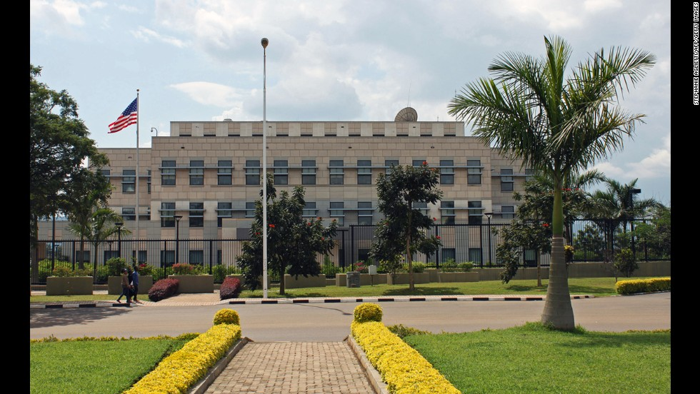 The U.S Embassy in Kigali, Rwanda, will remain closed for the week.