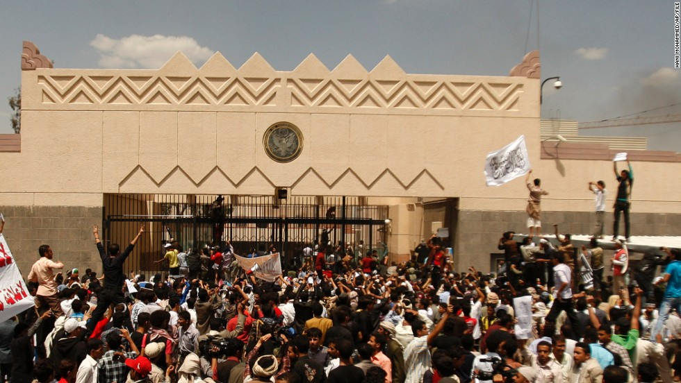 The U.S. Embassy in Sanaa, Yemen, is closed until August 10.