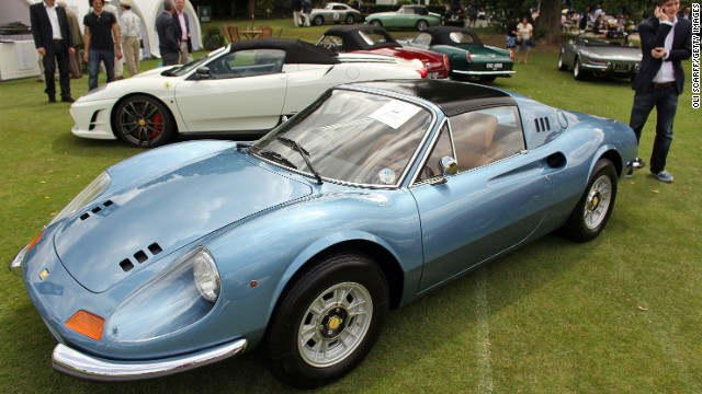 "Ferrari Dino: Four wheels or ""phwoar!"" wheels?"
