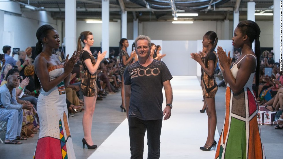 "South African fashion artist Steve Mandy, who hand-paints on clothes, says taking part in the event can have an impact both at home and abroad. ""The fact that you can say that you did African Fashion Week it promotes you and helps to you gain integrity to your product."""