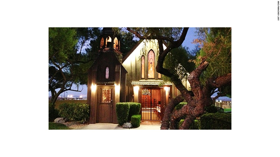 """The <a href=""""http://www.littlechurchlv.com/"""" target=""""_blank"""">Little Church of the West</a> is listed on the National Registry of Historic Places -- the only venue on the Las Vegas strip with that designation."""