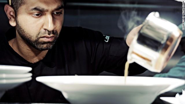 Award-winning British Bangladeshi chef Aktar Islam from Birmigham, UK.