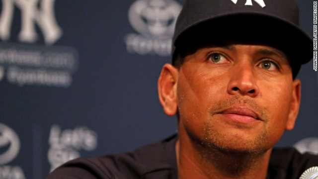 Alex Rodriguez spoke to the media before the Yankees took on the Chicago White Sox  in August in Chicago.