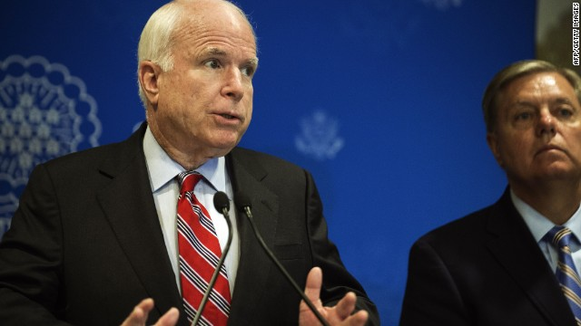 McCain: What happened in Egypt was a 'coup'