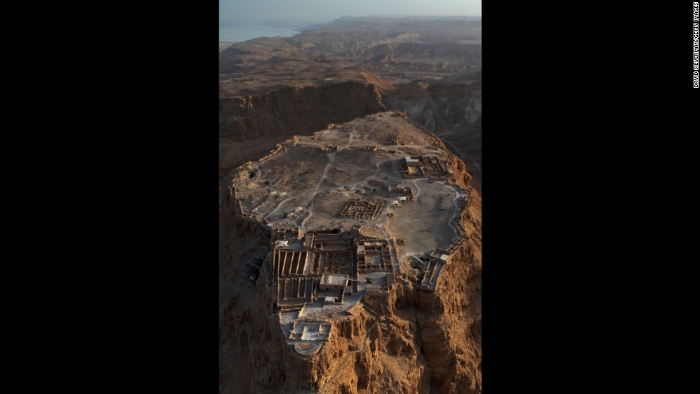 Known as the Jewish people's last line of defense against the Romans, who stormed it in 73 AD, Masada's ingenious engineering is on display for visitors to Israel.