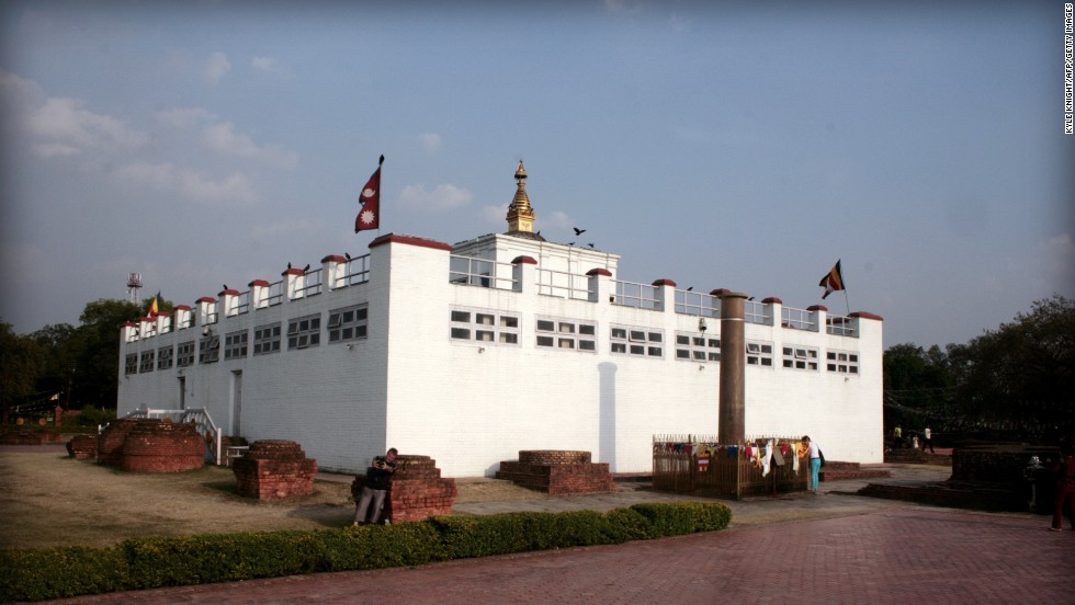 The Maya Devi Temple in Lumbini, Nepal, is the the site of the Buddha's birth and is dedicated to Queen Maya, the Buddha's mother.  While remnants of monasteries and walkways from the 3rd century BC are still there, active monasteries and temples are in the surrounding area.