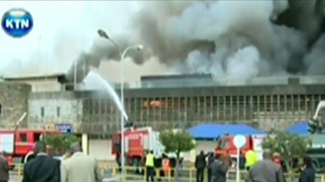Fire breaks out at Nairobi Airport
