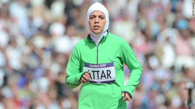 Saudi female runner looks back at London