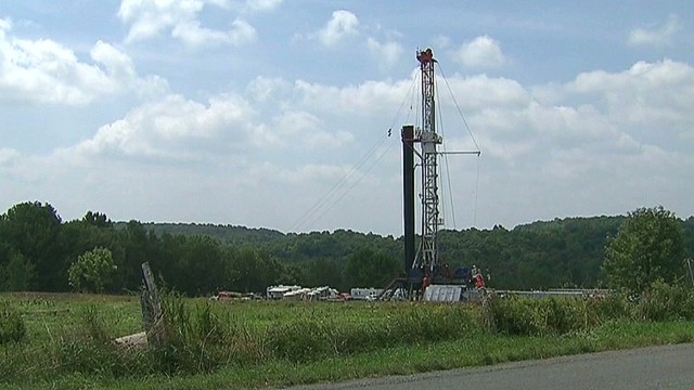 Protesters to oil companies: Frack off