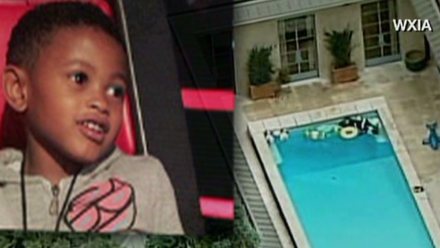 Usher swimming pool accident
