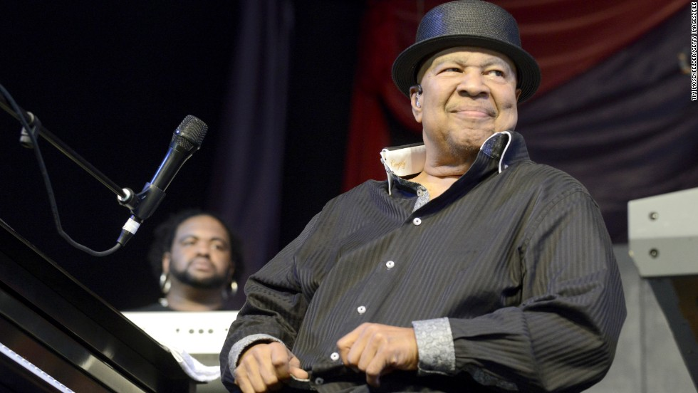 "<a href=""http://www.cnn.com/2013/08/07/showbiz/music/jazz-artist-george-duke-dies/index.html?iref=allsearch"">George Duke,</a> seen here at the 2013 New Orleans Jazz & Heritage Festival in May, died in August at the age of 67. The legend was known for his phenomenal skills as a keyboardist, and his ability to bridge together jazz, rock, funk and R&B."